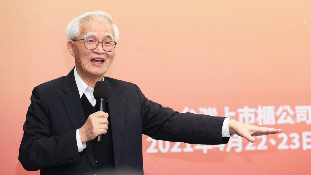 大同公司董事長盧明光。記者潘俊宏/攝影