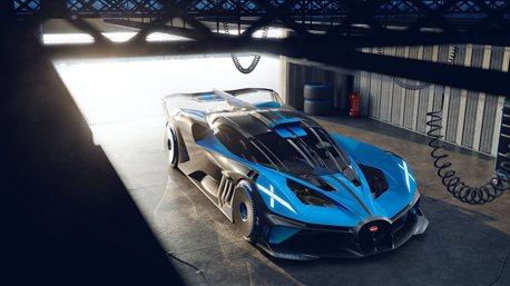 售價高達台幣1.6億元 外傳Bugatti將限量打造Bolide頂級賽道超跑