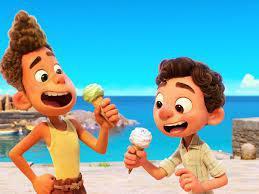 「路卡的夏天」在部分地區僅於Disney+獨家推出,沒有戲院放映。圖/摘自imd...