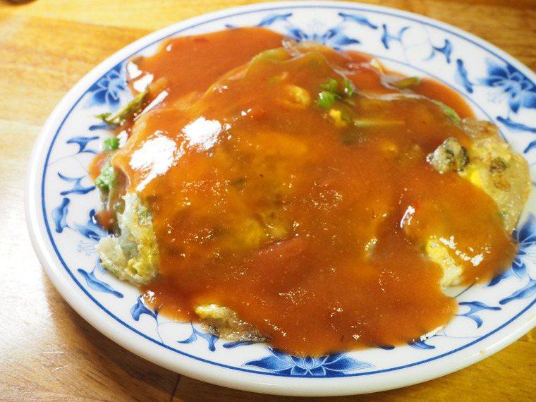 美食作家陳靜宜認為臺灣蚵仔煎還可更升級,圖為圓環頂蚵仔煎。圖/陳靜宜提供