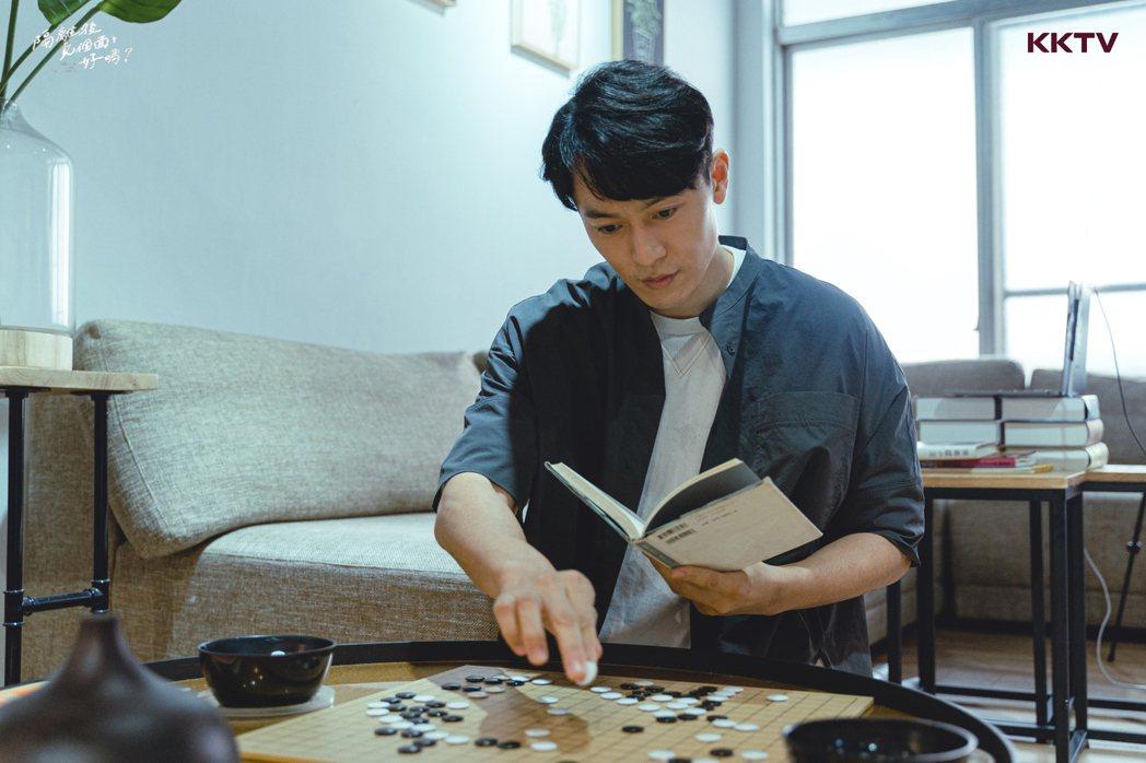 日籍藝人河合朗弘是男主角。圖/KKTV提供