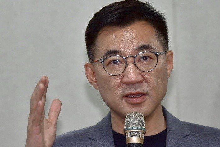 尋求國民黨主席連任的江啟臣提出新的兩岸論述。圖/聯合報系資料照片