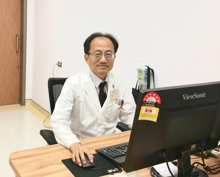 台中榮總神經醫學中心副主任黃金安。圖╱黃金安提供