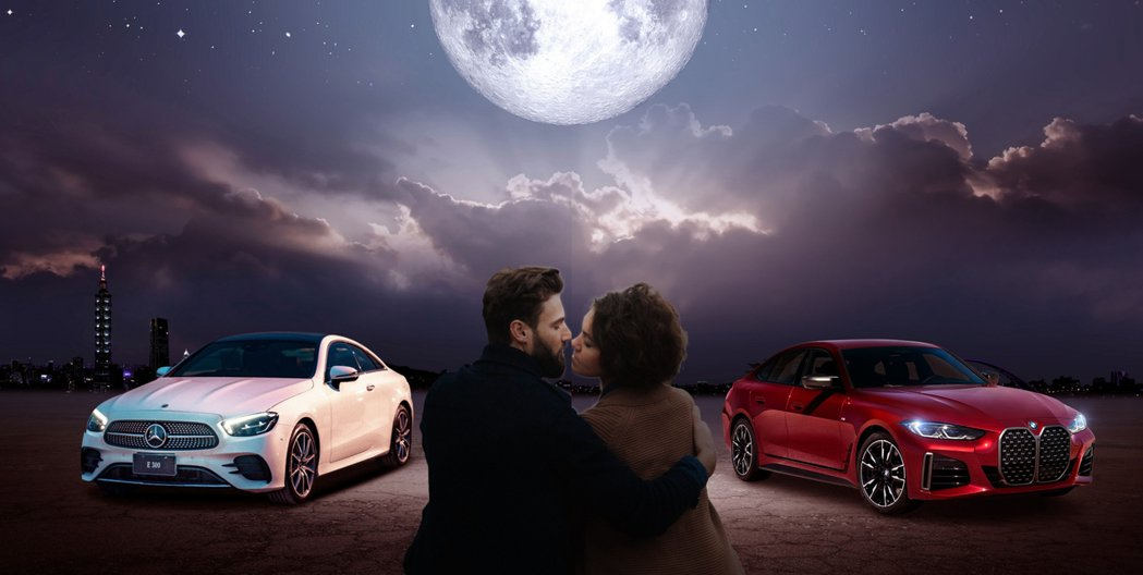 台灣賓士與BMW總代理汎德不約而同的在臉書粉絲團上互傳情。 摘自Mercedes...