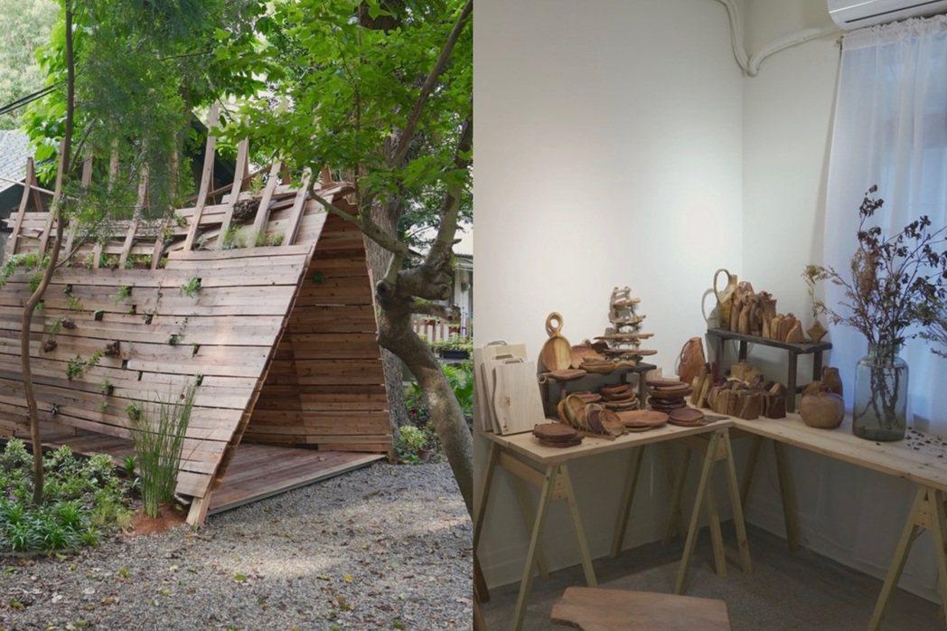 甘樂文創在林務局三峽分站設計「悠森學」展覽。圖/甘樂文創提供