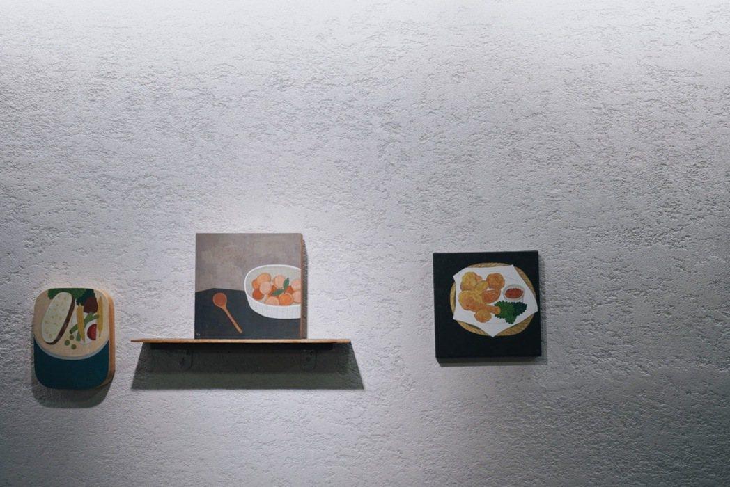 插畫家米力以溫暖筆觸描繪生活況味,為飲食空間注入溫暖與日常趣味。 圖/沈佩臻攝影