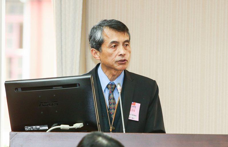 日前道安委員會執行秘書謝銘鴻(圖)在一場會議中報告交通死亡事故中高齡者占比偏高,遭行政院長蘇貞昌怒飆,不到一周,謝就被調離道安會。圖/聯合報系資料照片