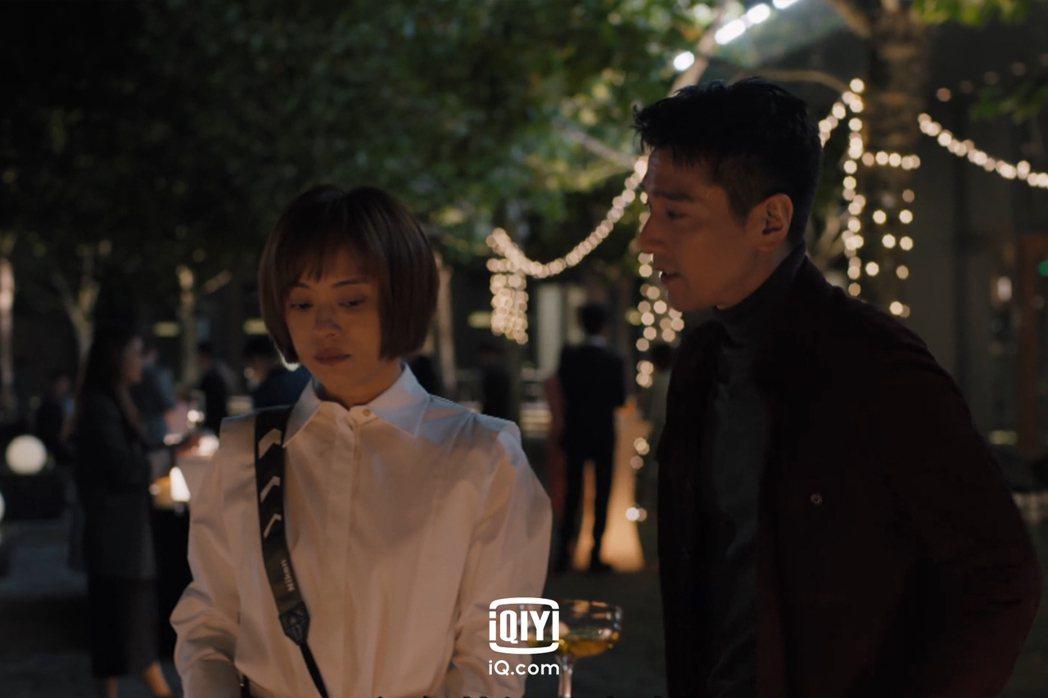 孫儷(左)和趙又廷合作新戲「理想之城」。圖/愛奇藝國際站提供