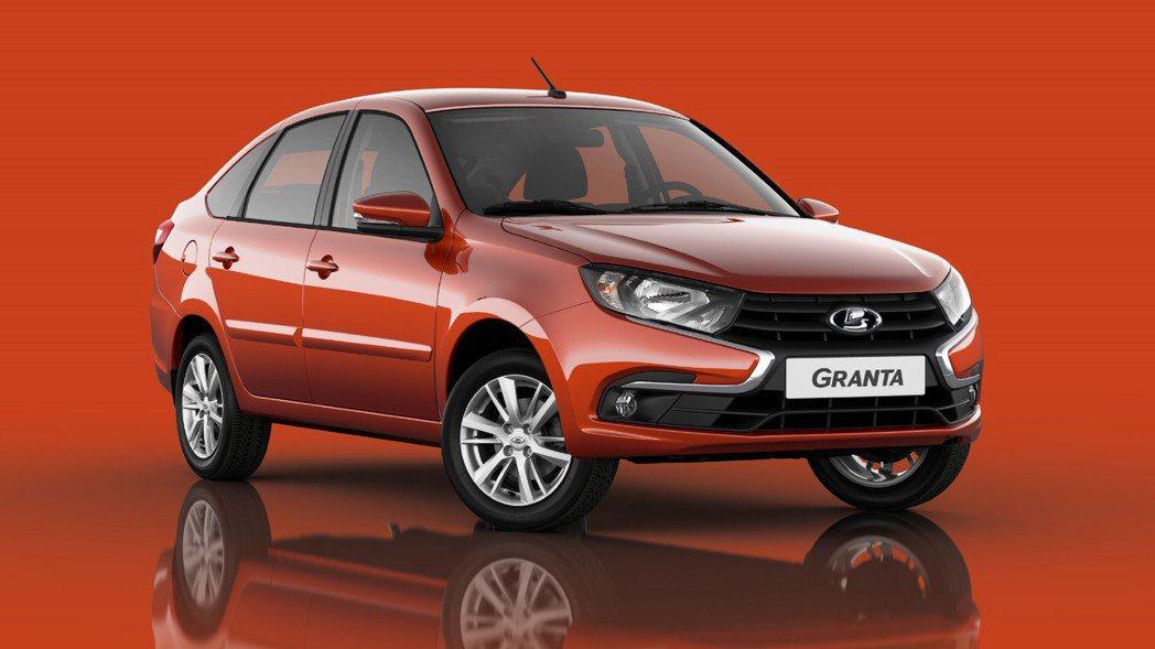 俄羅斯當地最暢銷的Lada Granta。 摘自carscoops.com