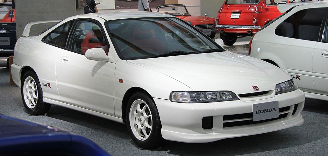 Honda Integra Type R(DC2)。 摘自Honda