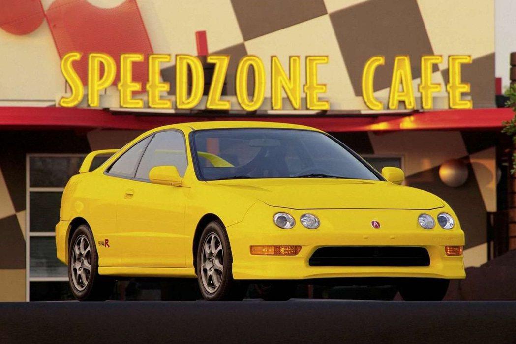 Acura Integra Type R(美規)。 摘自Acura