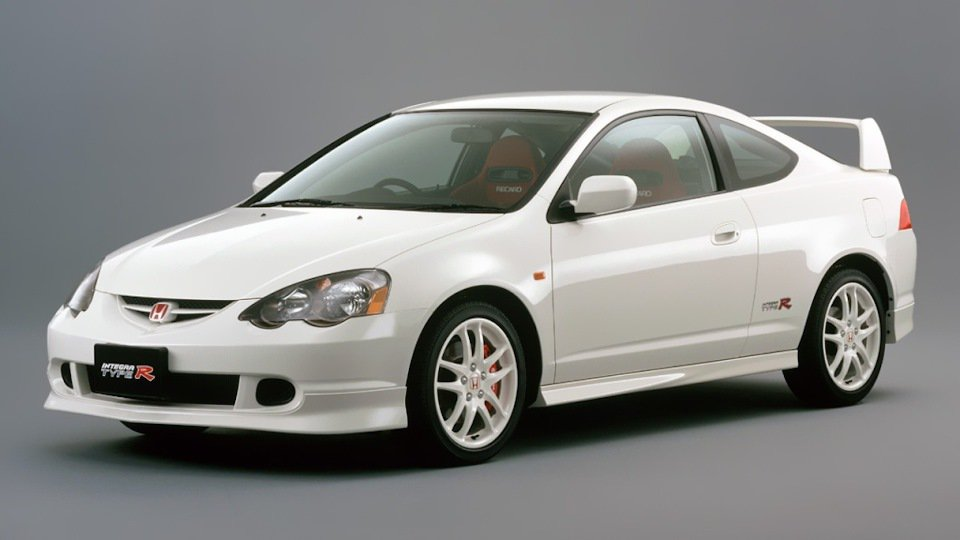 Honda Integra Type R(DC5)。 摘自Honda