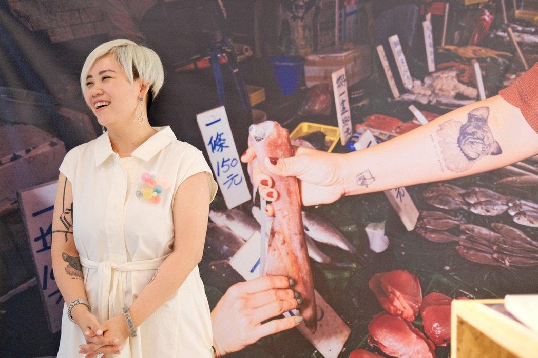 食物設計師陳小曼,這次跨足食物產設領域,推出LOUU品牌。圖/江佩君攝影