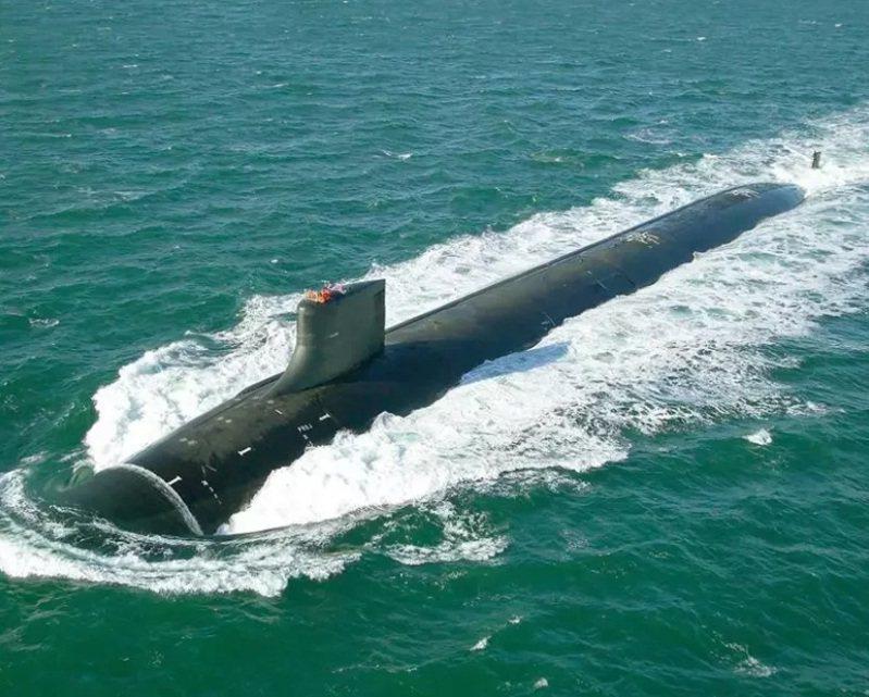 美國海軍海狼級核潛艦「吉米卡特」號資料照。圖/取自美國國防部網站