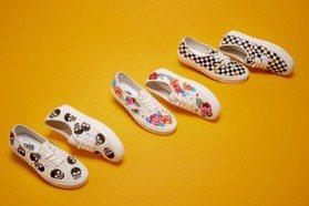 小白鞋控又有新選擇!Vans玫瑰花刺繡、Keds溫柔奶茶系…還有櫻花粉、藕粉色、酪梨綠的夢幻新配色