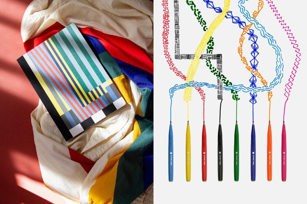 Papier Tigre經常以繽紛配色與幾何圖形融入設計,為使用者帶來新鮮感與創...