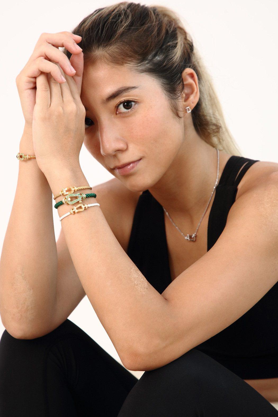 瑞瑪席丹開線上健身課程。圖/彥恩國際經紀提供