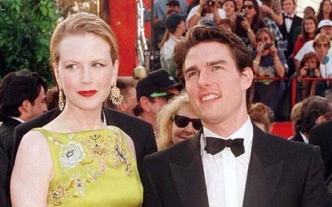 妮可基嫚與湯姆克魯斯宛如好萊塢王妃和王子,走到哪都是矚目焦點。(路透資料照片)