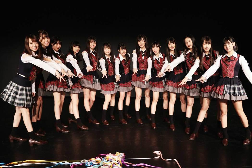 「AKB48 Team TP」將推出2022年限定年曆。圖/好言娛樂提供