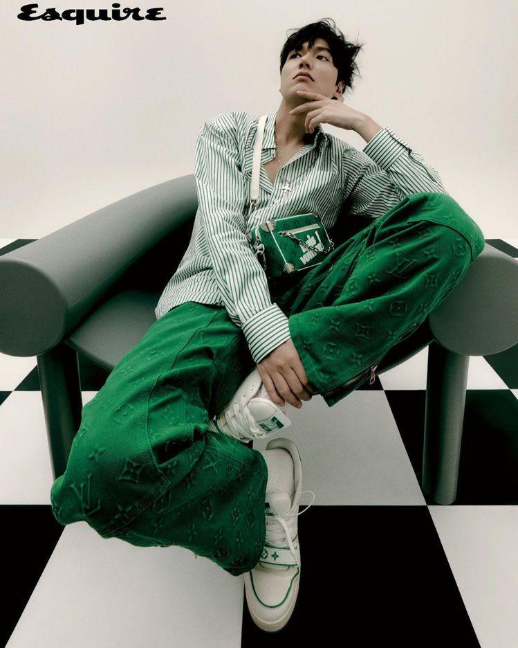 李敏鎬受到韓版男性時尚雜誌Esquire的邀請,將擔任9月的封面人物。圖/摘自李...