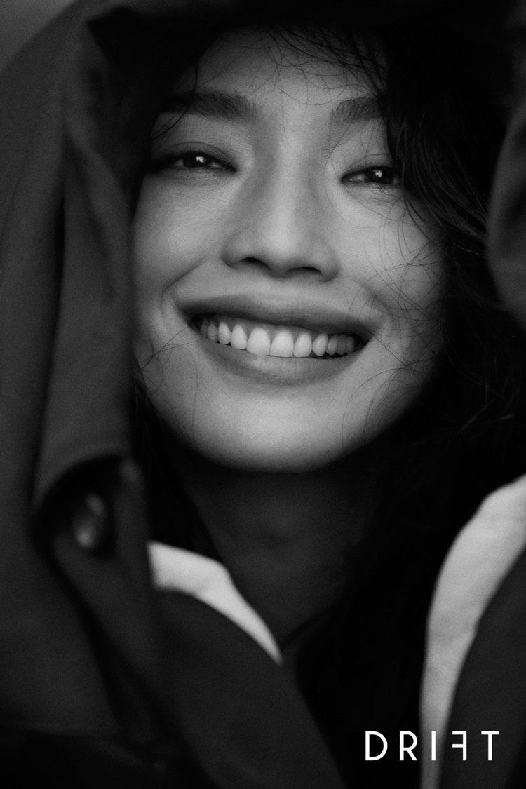 舒淇的笑容很迷人。圖/摘自微博
