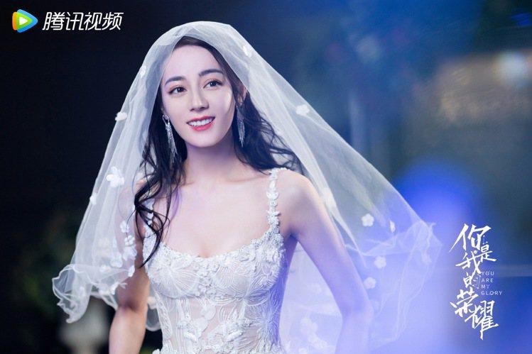 《你是我的榮耀》16日播出楊洋、迪麗熱巴婚禮。 圖/擷自微博/你是我的榮耀