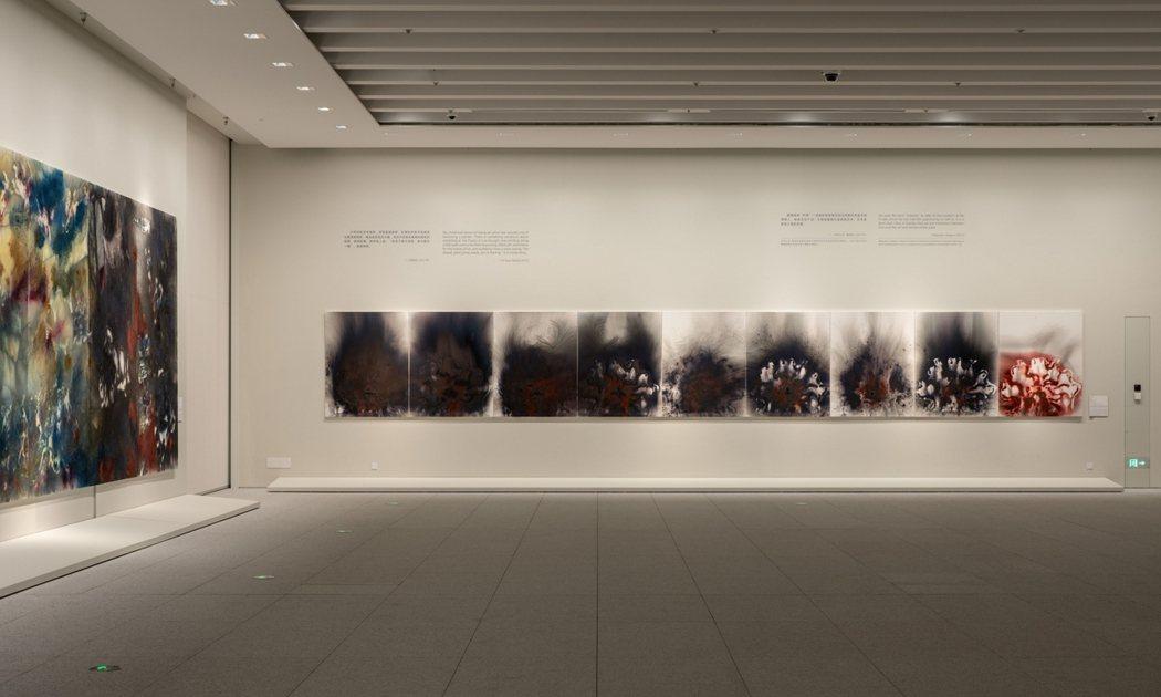 蔡國強全新個展中,探坦東西方藝術的彼此影響。圖/蔡國強工作室提供