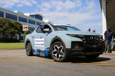 房車、休旅、皮卡都有美國製 Hyundai阿拉巴馬工廠達成500萬輛生產里程碑!