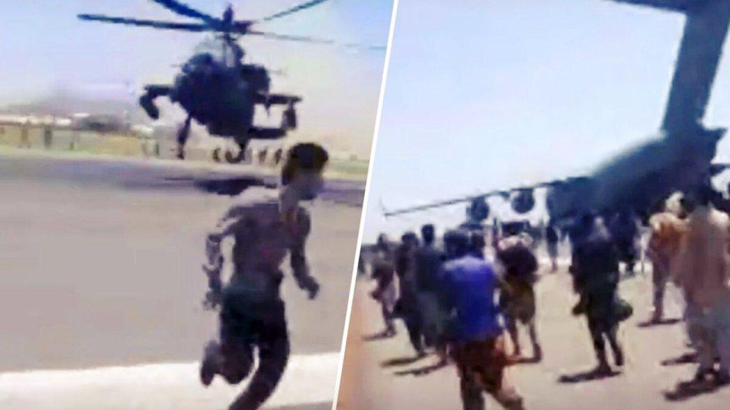 美軍走得極為狼狽,並以最糟的局面成為阿富汗人最鄙視的回憶。 圖/法新社