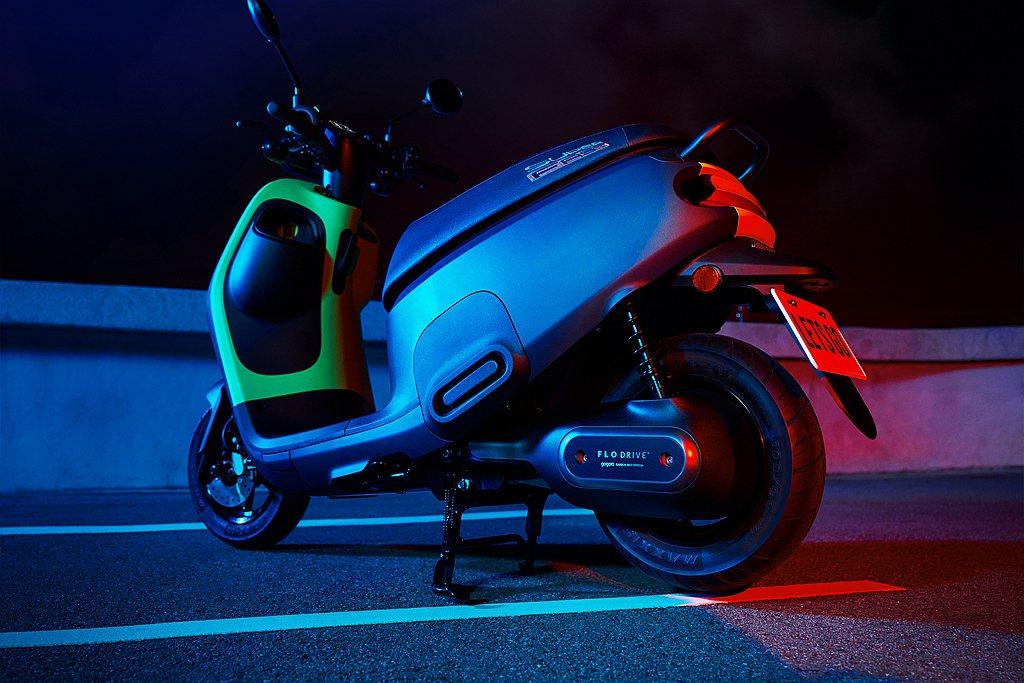 Gogoro VIVA MIX SUPERFAST採用兼顧舒適性與運動化的車架設...