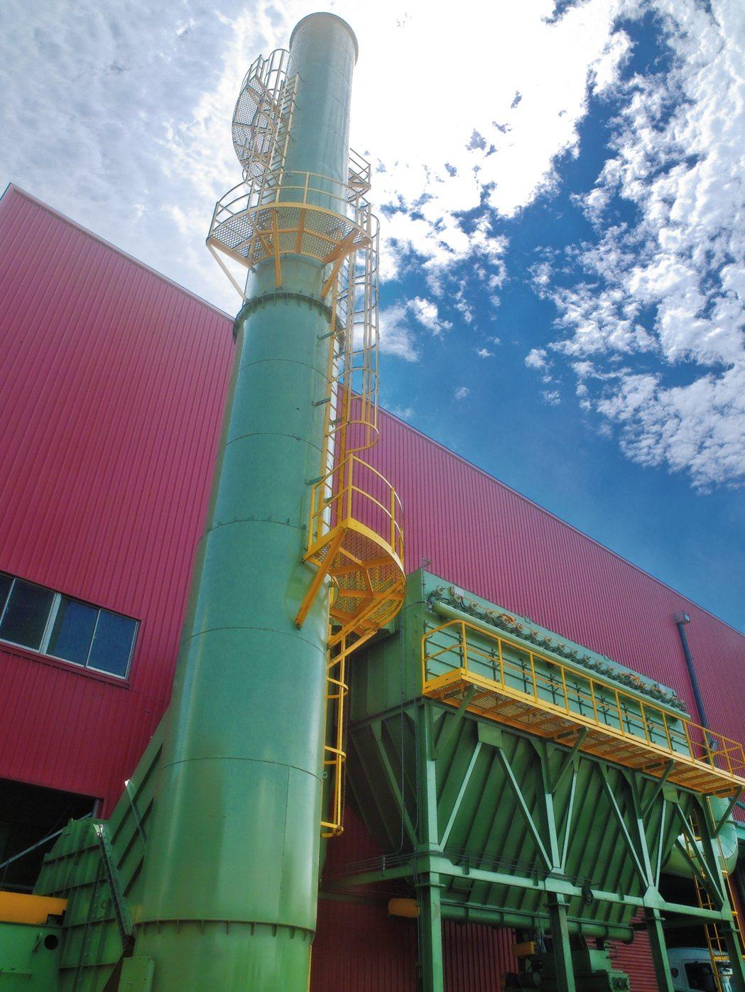 源潤豐現代化環保設備。 源潤豐/提供