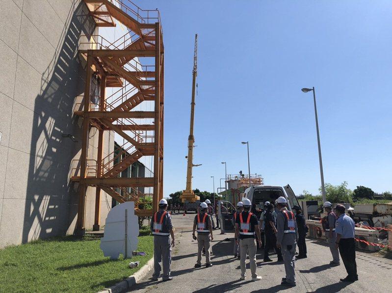 台東焚化廠8月曾發生工安事故。圖/縣府提供