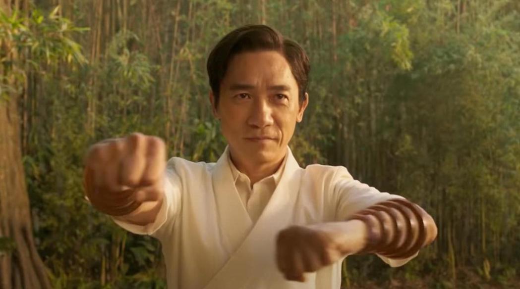 梁朝偉在「尚氣與十環傳奇」飾演反派「文武」,疑因疫情影響,不便從香港飛到美國洛杉