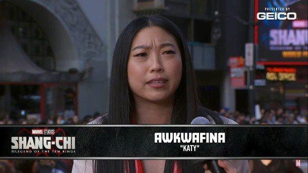奧卡菲娜提到「尚氣」是與楊紫瓊的2度合作。圖/摘自YouTube