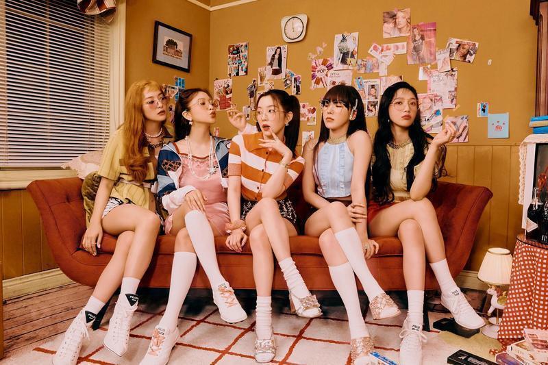 Red Velvet攜新專輯回歸。圖/avex Taiwan提供