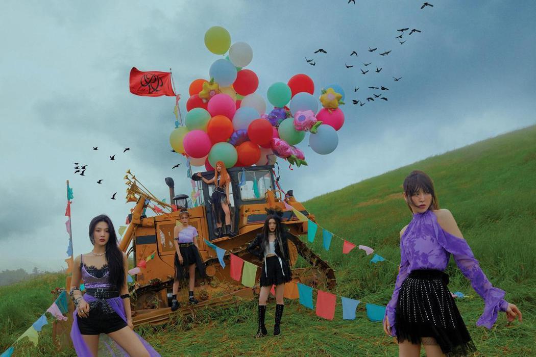 Red Velvet。圖/avex Taiwan提供