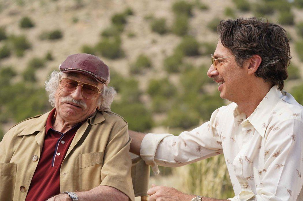 勞勃狄尼洛在《詐製片家》再展喜劇功力。圖/甲上提供