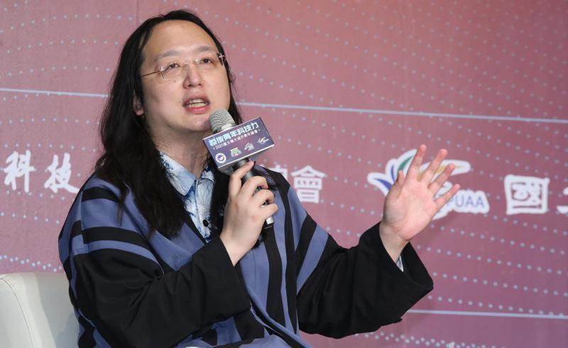 行政院政務委員唐鳳,是中華民國歷史上第一位跨性別的閣員。圖/聯合報系資料照片