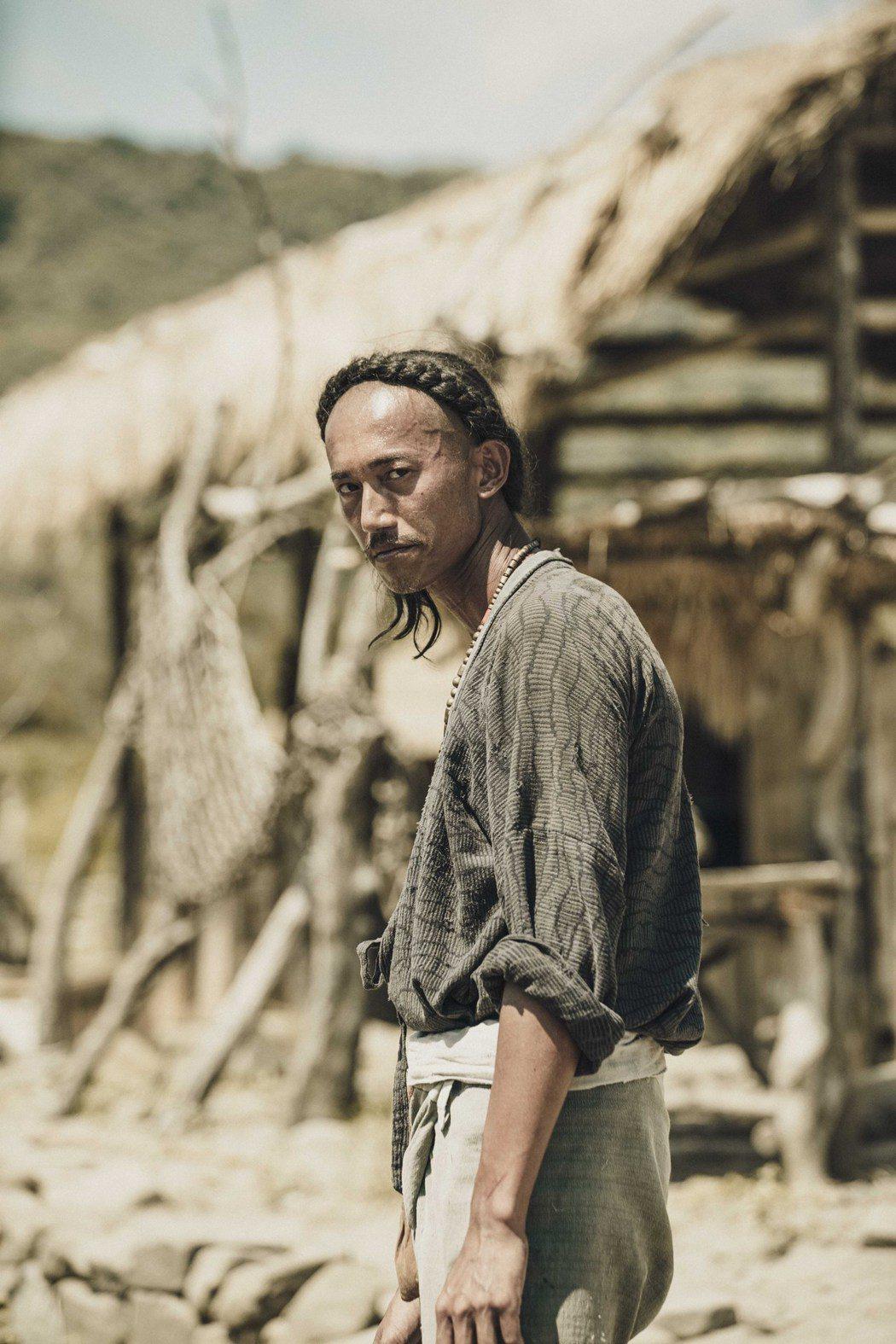 吳慷仁在「斯卡羅」中演出「水仔」。圖/公視提供
