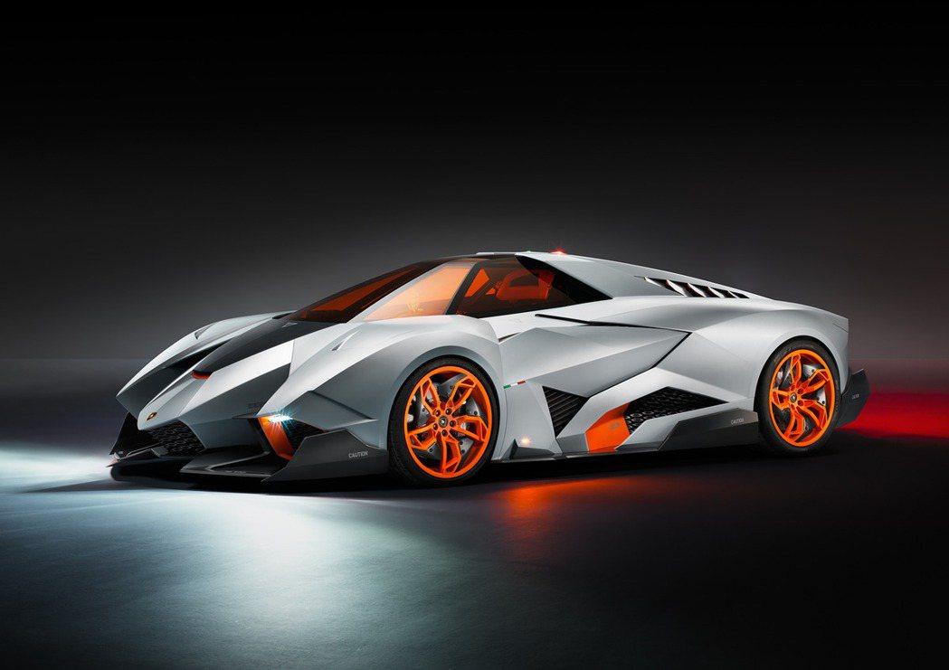 Lamborghini Egoista。 圖/Lamborghini提供