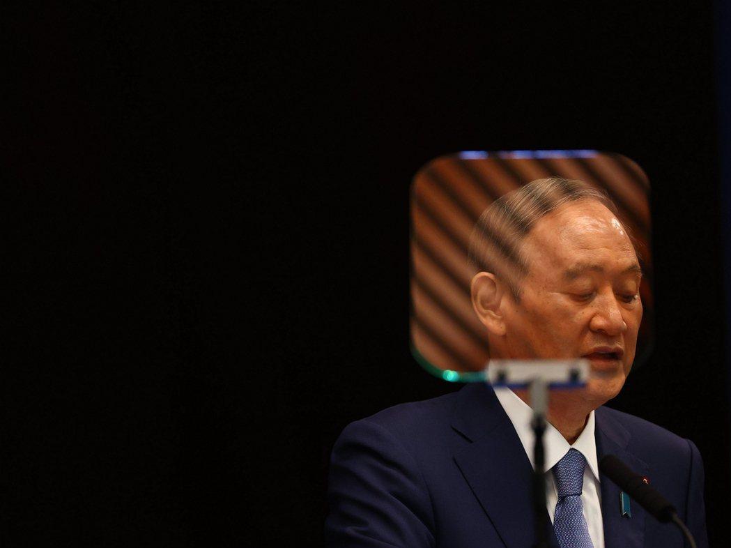 對菅義偉來說,最期待的就是「空氣」的改變,簡言之,就是東京奧運熱能否融化日本民眾先前冰冷的心? 圖/歐新社