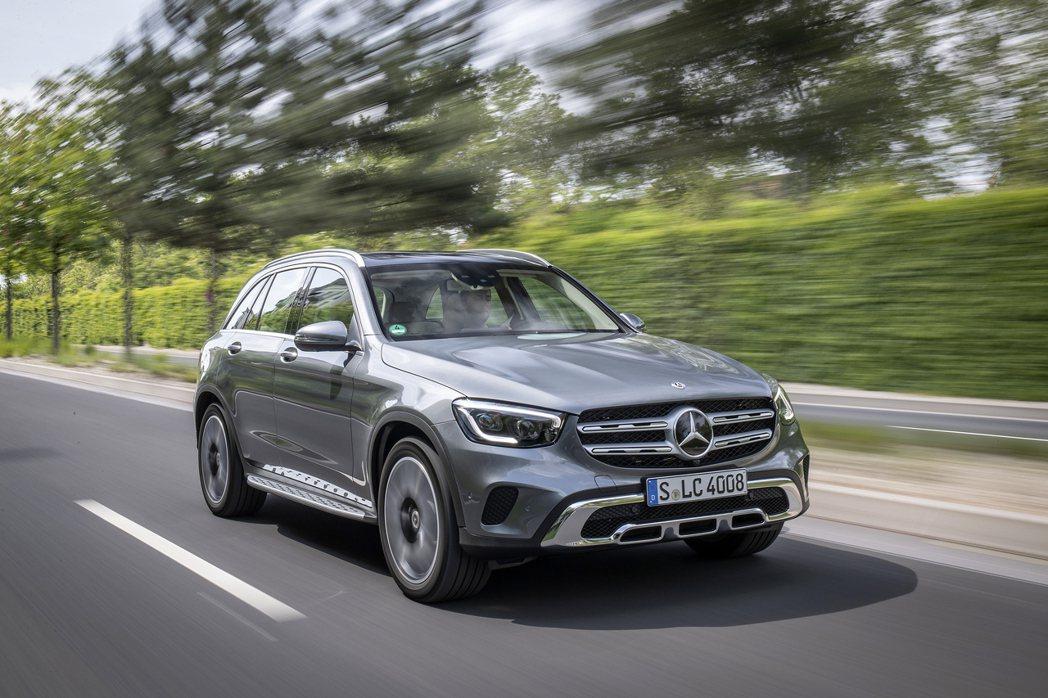 Mercedes-Benz GLC是今年品牌上半年最暢銷車款。 摘自Merced...
