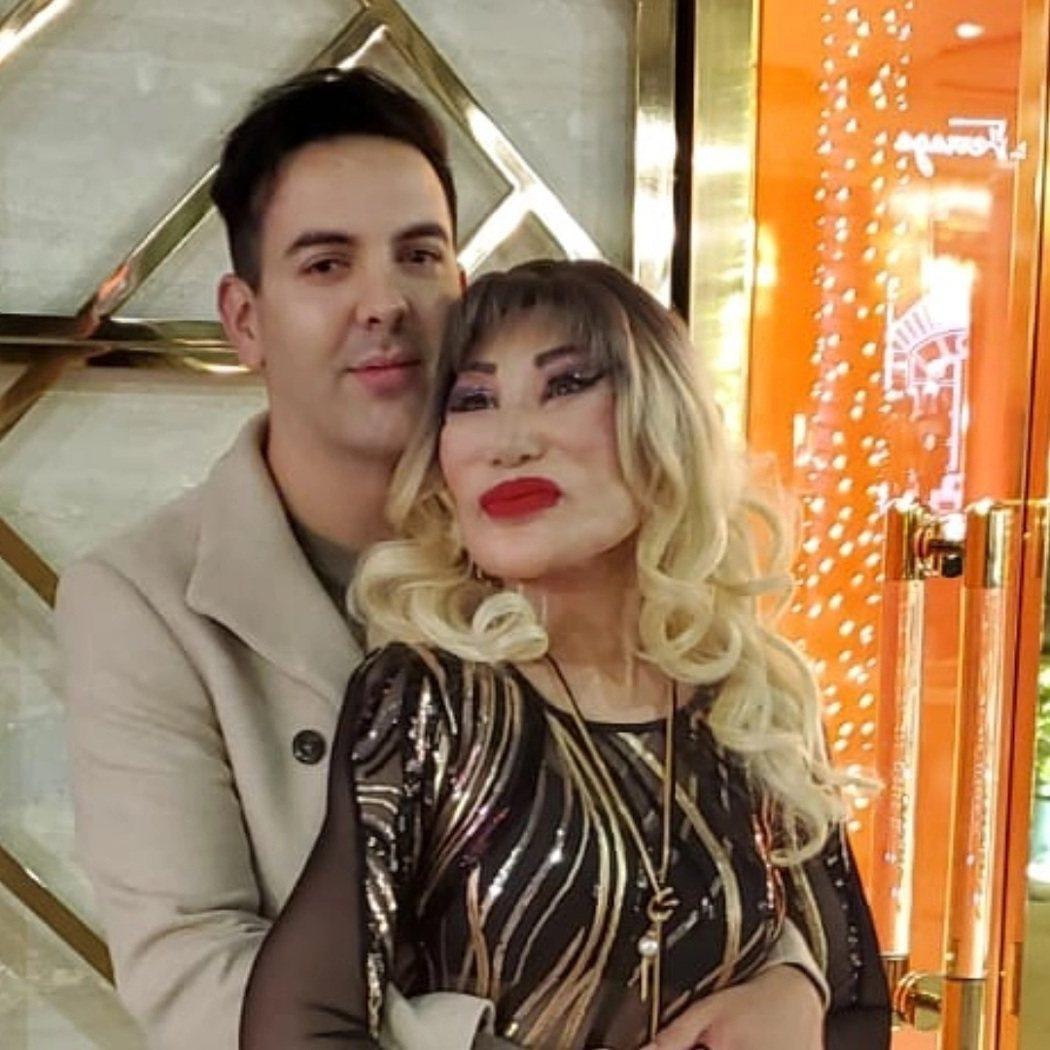 Lyn May宣布懷孕,並稱孩子的爸是29歲男歌手「Markos D1」。圖/擷