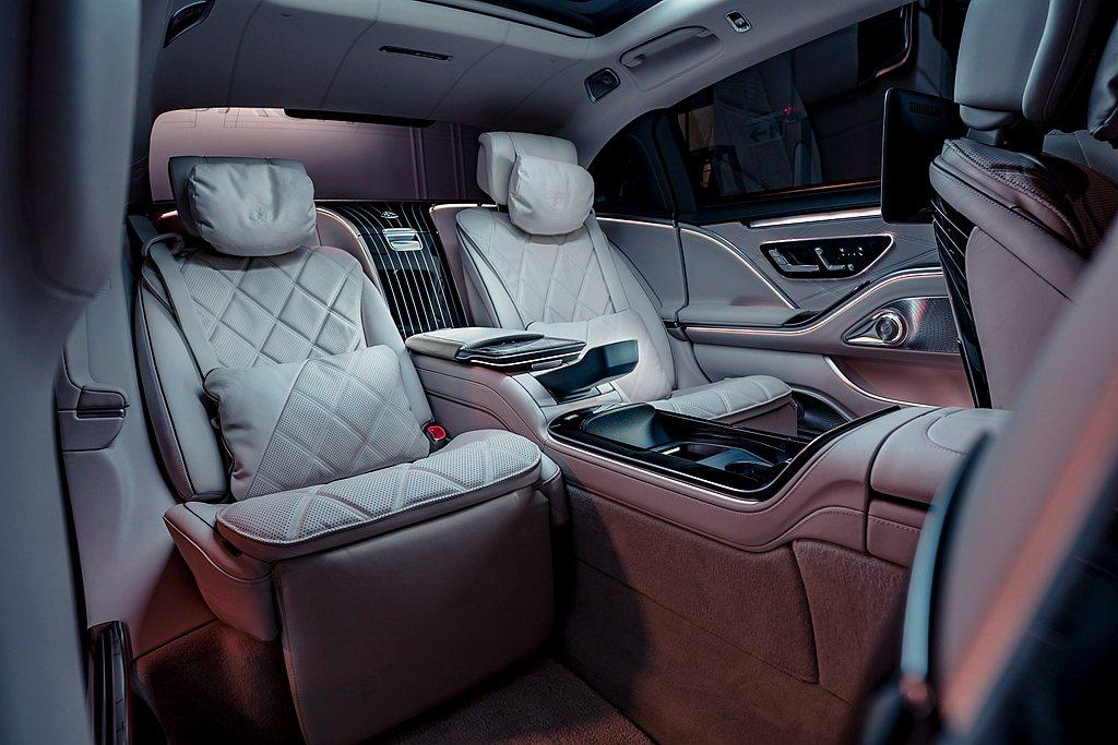 全新Mercedes-Maybach S 580 4MATIC室內令人倍感尊榮,...
