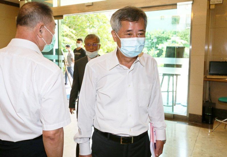 漢唐經營權變天,總經理陳柏辰(右)將獲留任。記者胡經周/攝影