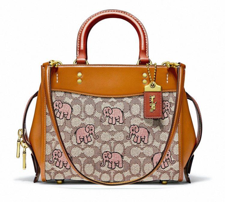 大象Rogue手袋,19,800元。圖/COACH提供