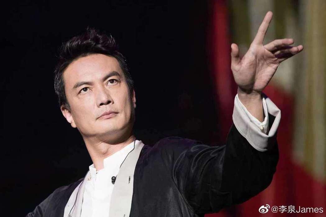 大陸歌手李泉無法出席金曲頒獎典禮。圖/摘自微博