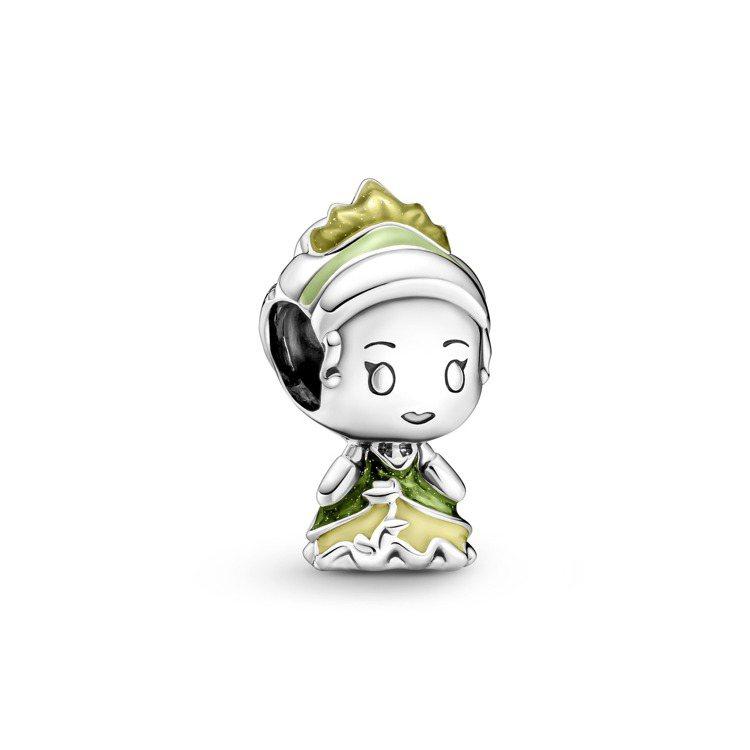 Disney x Pandora「公主與青蛙」蒂安娜公主925銀串飾,2,080...