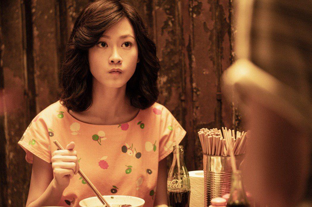 演員廖子妤飾演梅艷芳親姊姊梅愛芳。圖/索尼提供