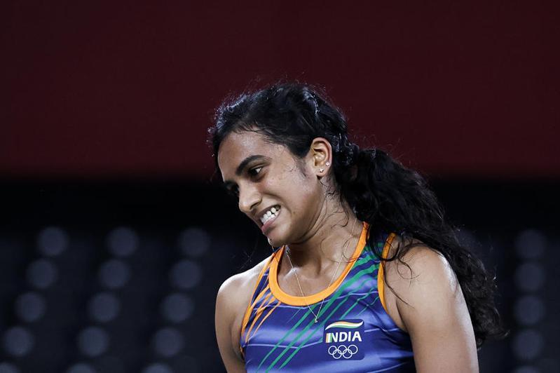 印度女將辛德胡於東奧4強戰不敵我國世界球后戴資穎,最後仍拿下一面銅牌。 歐新社